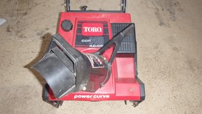 Toro CCR 2400 Snow Blower in Chicago, Illinois