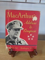 Book~MacAruthu's Address to Congress April 19, 1951 in Yorkville, Illinois