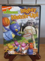 "DVD ""Mighty Match-Up"" the Backyardigans in Yorkville, Illinois"