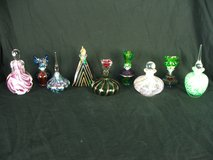 Art Glass Perfume Bottle Collection Signed and Unsigned Special Gift? in Aurora, Illinois