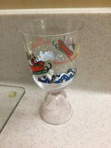 JAPAN 1992 GLASS KENTUCKY FRIED CHICKEN CHRISTMAS BELL SHAPED BOTTOM KFC COLLECTABLE in Okinawa, Japan