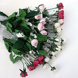 """VTG ARTIFICIAL FLOWERS: """"Dried"""" Rosebud Stems, 16"""" long, w/tags,6-pk in Naperville, Illinois"""