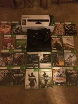 XBOX 360 Slim (250GB) + Kinect + 2 Controllers + 20 Games + HDMI Cable in Fort Drum, New York