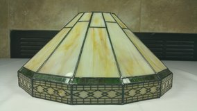 Hamilton Bay Tiffany Style stained glass wall scone light in Tinley Park, Illinois