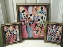 Black Musicians 3 pc Framed Pictures in Eglin AFB, Florida