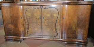 Big Antique Sideboard with Removable Pedestal in Ramstein, Germany
