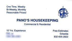 Pano's HouseKeeping in Spring, Texas