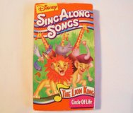 Disney Sing Along Songs THE LION KING  VHS Tape in Kingwood, Texas