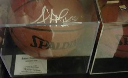 Christmas gift amare stoudemire auto ball w/case in Fort Drum, New York
