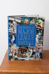Carlton Fisk Signed History of Major League Baseball Book in Plainfield, Illinois