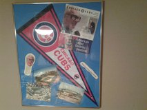Chicago Cubs 1990's Scorecard and 1980's Photos of  Wrigley Field in Oswego, Illinois