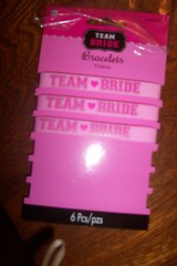 3 Team Bride arm bands in Kingwood, Texas