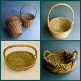 VINTAGE WILLOW / WICKER BASKETS W/ HANDLES in St. Charles, Illinois