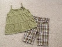 LIKE NEW 6X Summer Top & Shorts Set in Plainfield, Illinois