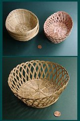 SM BAMBOO WICKER BASKETS-3 kinds, no handle in Westmont, Illinois