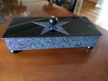 "New ""Star Box"" by Michael Herbert - Cedar Box with Velvet Lining & Star Top in Glendale Heights, Illinois"