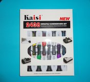 NEW gulu® kaisi 2408 - tools set - repair versatile screwdriver kit - new in box in Joliet, Illinois