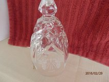 """Christmas Waterford Crystal Bell  Marked 1998  5.25"""" in Naperville, Illinois"""