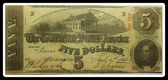 USA EARLY PAPER MONEY in Okinawa, Japan