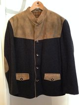 St. Moritz Trachten Bavarian Jacket Wool and Leather w/antler buttons (great with lederhosen), M... in Stuttgart, GE