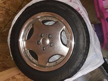 Set of Yokohama tires with rims 16 inch-read post before contacting in Joliet, Illinois