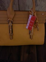 Yellow Sorrentino fashion purse-new in Tinley Park, Illinois
