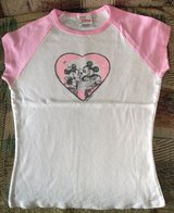 Disney Store Mickey & Minnie Mouse Juniors fitted tee size XXL in Joliet, Illinois