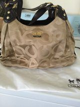 Tag still attached. Authentic Coach purse in Fairfield, California