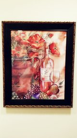 Wall Wine and Grapes Art Decor in Westmont, Illinois
