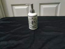 Monogrammed Lotion/Soap Dispenser in Eglin AFB, Florida