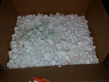 Large box full of packing peanuts in Fort Bragg, North Carolina