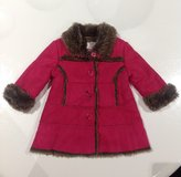 Hot Pink Suede Fur Coat 12 months in Clarksville, Tennessee
