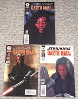 Extremely RARE Star Wars Darth Maul Comic Books Lot of 3 1, 2, and 3.  2000 in Yorkville, Illinois