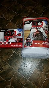 New /  Disney Star Wars Microfiber Full Comforter Set in Clarksville, Tennessee