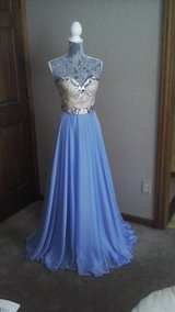 Dress from Peaches Boutique. Sherri Hill #1551923 sz 2, periwinkle color in Naperville, Illinois