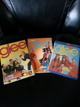 Glee season 1- dvd season 2-dvd, and season 3-blue-ray in Tinley Park, Illinois