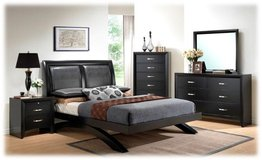 QUEEN BED SET WITH MATTRESS NEW STYLE JUST IN in Camp Pendleton, California