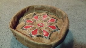 Leather pet bed in St. Charles, Illinois