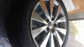 Michelin  tires 215 / 55 R17 and rims set in Beaufort, South Carolina