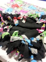 Handmade fleece tied throw 48x60 inch reduced in Orland Park, Illinois