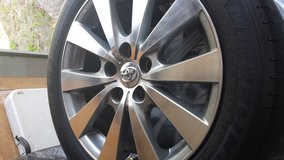 Car Tires and rims size 215/55 R17 in Beaufort, South Carolina