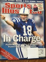 Sports Illustrated December 22nd, 2003 Featuring Peyton Manning in Chicago, Illinois