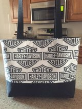 Harley Davidson Large Handmade Handbag / Purse / Tote in Fort Campbell, Kentucky