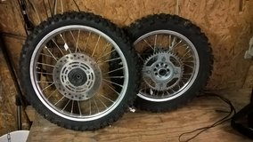 2007 Honda CR85R Wheels, SWING ARM,FENDER& EXHAUST - (S7606-1-2-3) in Hopkinsville, Kentucky