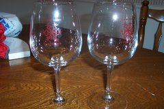 Snowflake Winery Glasses in Conroe, Texas