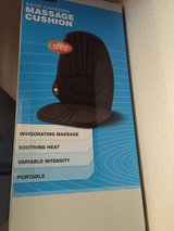 BACK CHARGER AND MASSAGE CUSHION in Travis AFB, California