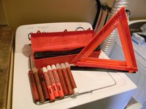 3 pc. Emergency Reflector Set and 9 Safety Flares in Schaumburg, Illinois