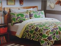 Camo Full-size 7-piece Bed in a Bag with Sheet Set in Naperville, Illinois