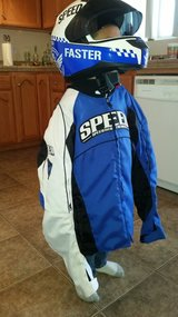 sport riding Speed and strength jacket and helmet in 29 Palms, California
