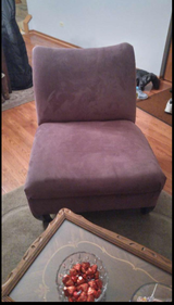 Purple Chair in Oswego, Illinois